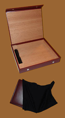 Accessories cigars online. Travel Leather Humidor
