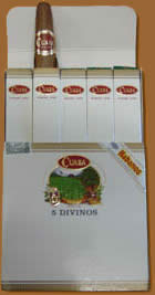 Cuaba cigars online. Divinos Cp Pack Of 5
