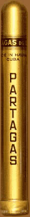 Partagas cigars online. Deluxe Tube